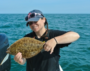 Flounders at the end of the trip!