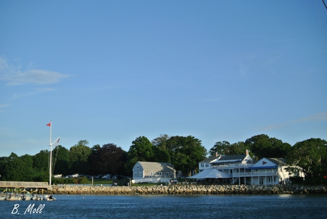 The PYC as seen from the harbor