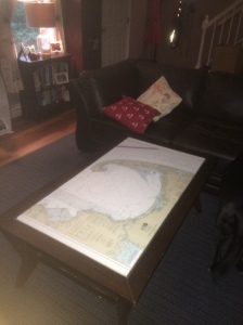 new house, new chart for the coffee table