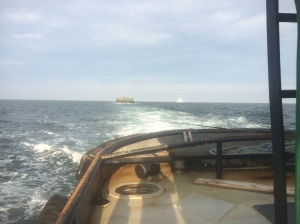 westbound on vineyard sound