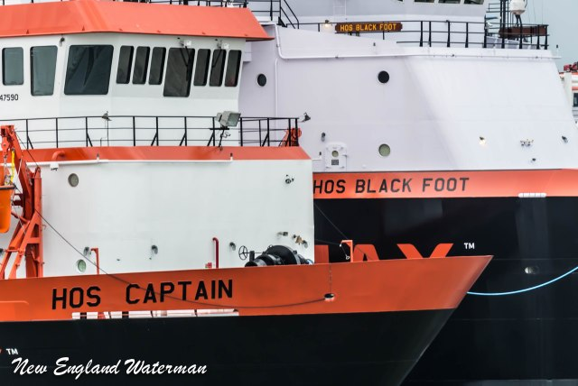 HOS Captain & HOS Black Foot