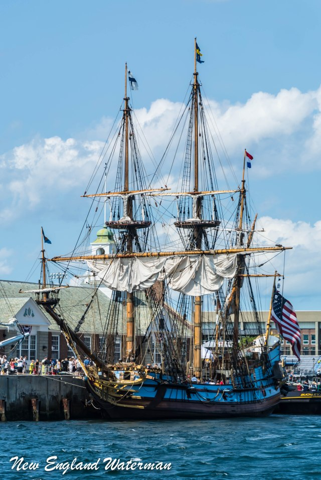 """Kalmar Nyckel"" at Mass Maritime"