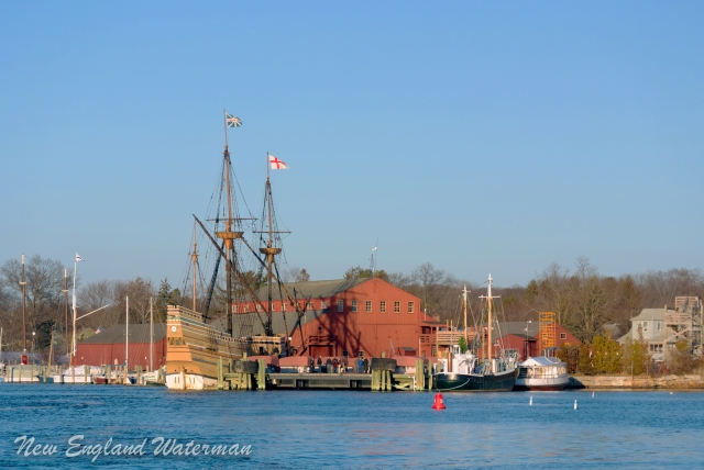 Mystic Seaport in our wake