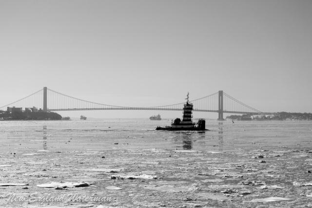 Chesapeake Coast making her escape