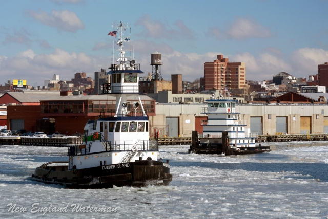 Tangier Island & HMS Justice in the Gowanus