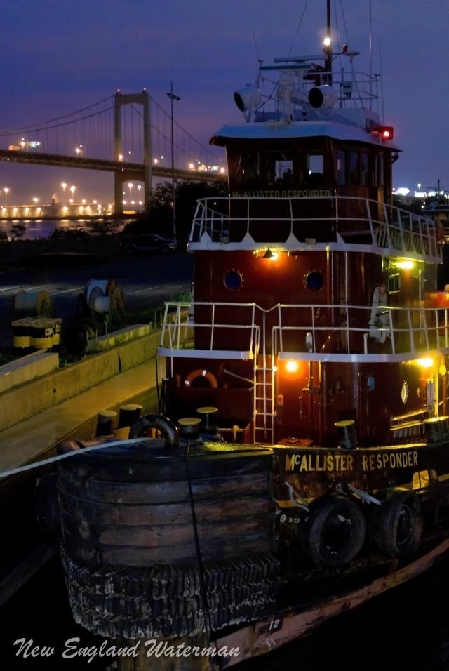 McAllister Responder and the Walt Whitman Bridge