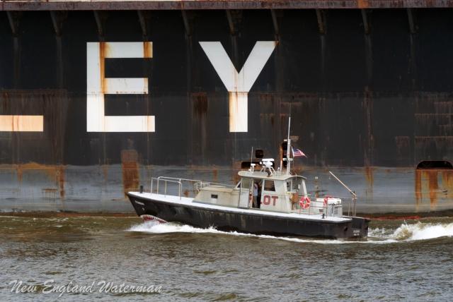 Retrieving the river pilot