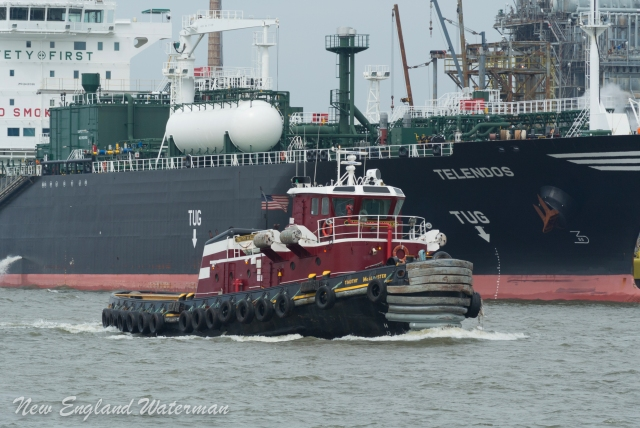 Timothy Mcallister, a navy YTB turned ASD tractor tug.