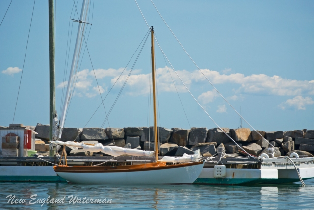 A Herreshoff 12 1/2 in Vineyard Haven.