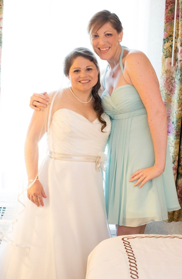 My wife and her maid of honor