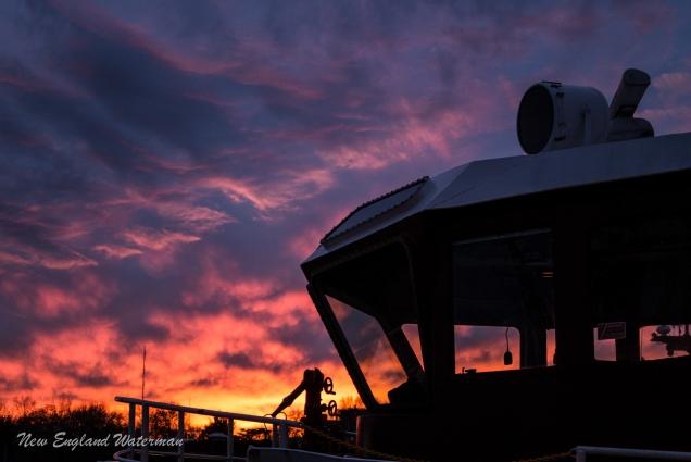 Sunset at the Yard