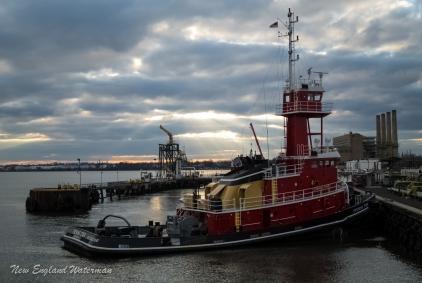 Evening Star at Port Reading